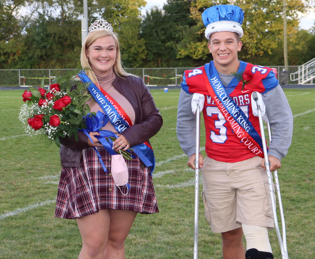 20/21 Homecoming Queen and King