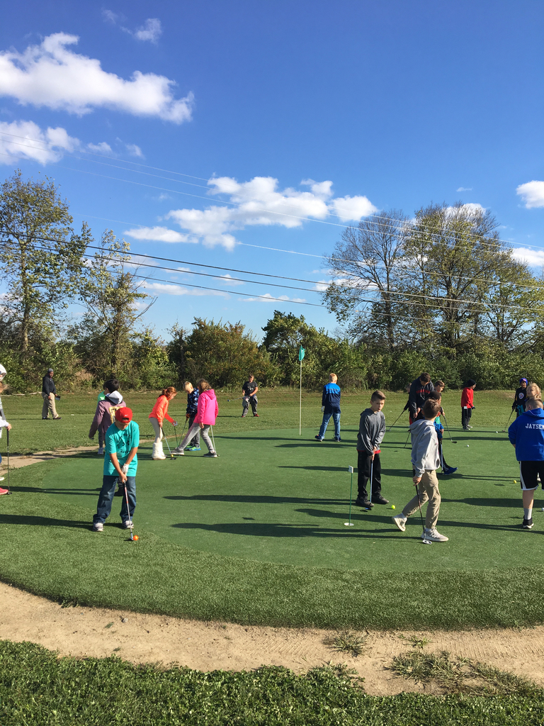 Youth golfers