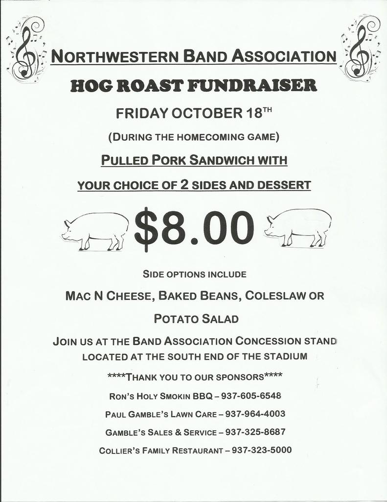 Band's Hog Roast