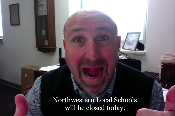 Northwestern Closed Today!